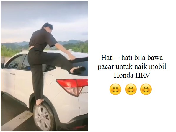 Just for fun - Just for fun : Anda punya mobil Honda HRV?